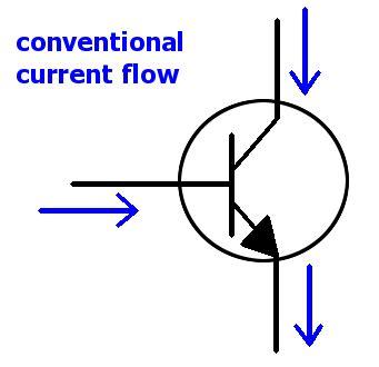 pnp transistor flow of current transistor current lifier circuit electrobotics