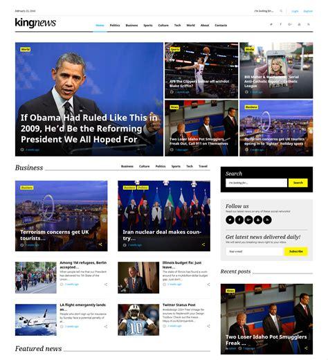 50 Best Wordpress Magazine Themes Templates Design Trends Premium Psd Vector Downloads Best Magazine Website Templates