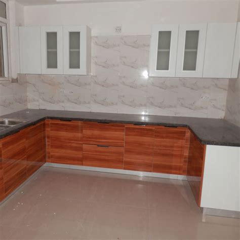 India NKS Flats Kitchen Cabinets   OPPEIN One Stop Project Solution