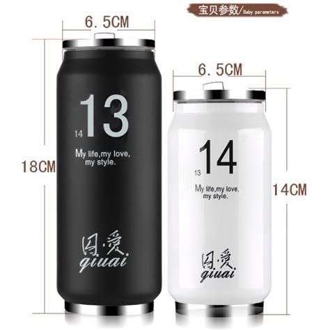 Tumbler Botol Minum Thermos 500ml botol minum termos insulated mug 500ml thermos white jakartanotebook