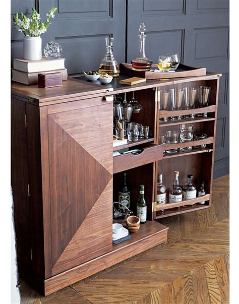 Small Bar Cabinet Furniture Small Liquor Cabinets Studio Design Gallery Best Design