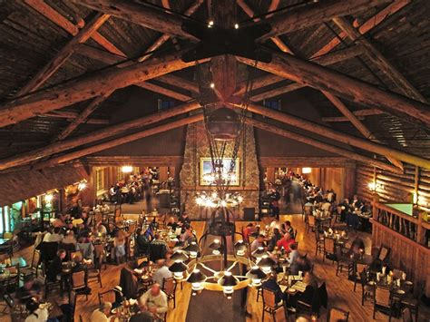 Old Faithful Inn Dining Room by Rodeo Buffalo Bill And Japanese Americans In Cody
