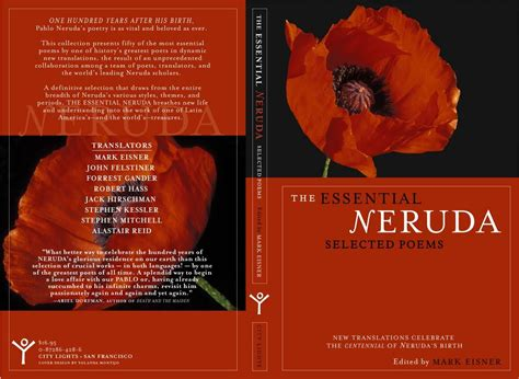 libro pablo neruda selected poems bilingual interview with mark eisner translator and editor of pablo neruda