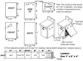 free wren house plans easy diy project
