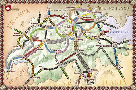Promo Ticket To Ride India And Swiss Expansion Board les aventuriers du rail jouons avec des petits trains