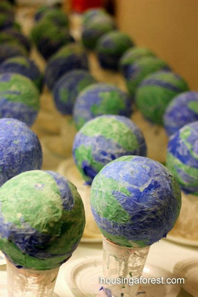 earth globes that light up diy light up earth day globes a paper mache project the