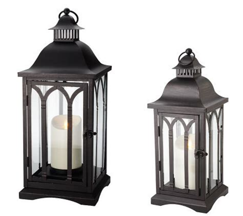 luminara cathedral candle lantern by bethlehem lights