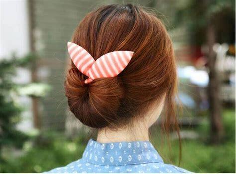 cara membuat cepol rambut tipis cara membuat cepol rambut ala korea yang cantik hanya