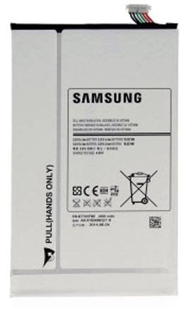 Rakkipanda Battery For Samsung T700 Tab S eb bt705fbe battery for galaxy tab s 8 4 price review and buy in dubai abu dhabi and rest of