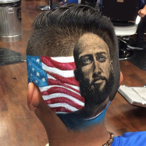 cool soccer hair if you re a fan of the usmnt and you don t have a portrait