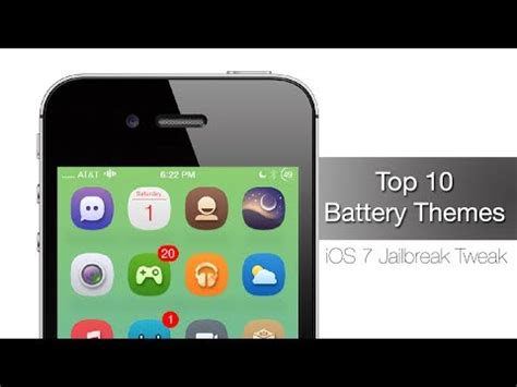 themes battery iphone top 10 battery themes for ios 7