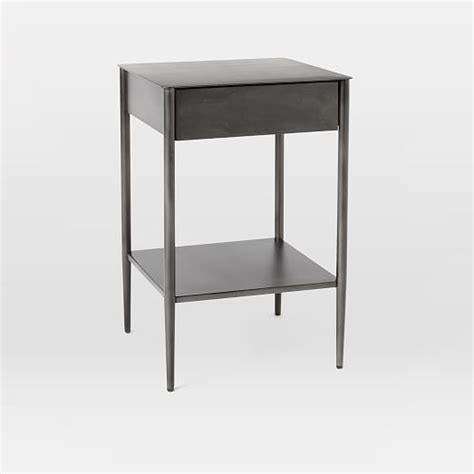 Nightstand Metal by 25 Best Ideas About Metal Nightstand On Black