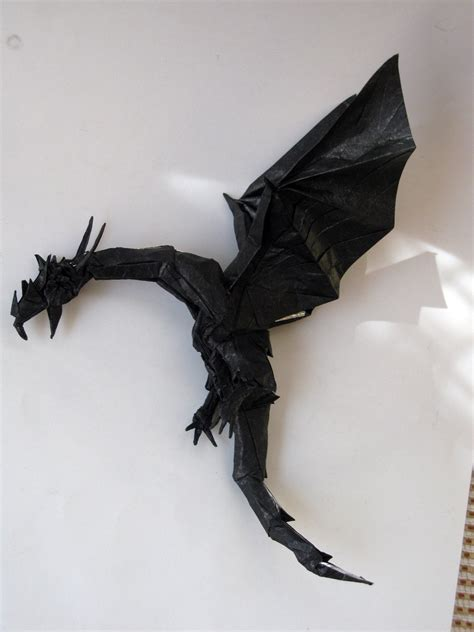Origami Drago - wyvern ii by finward erendash on deviantart