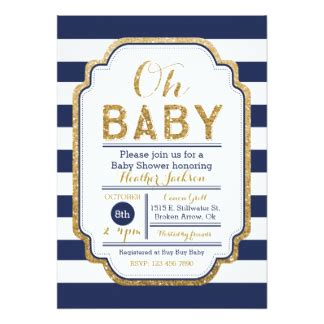 Baby Shower Invitation For A Boy by Baby Boy Shower Invitations Zazzle