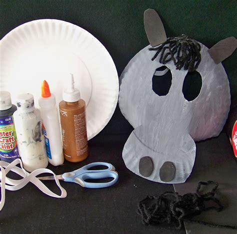 Mask Craft Paper Plate - day 4 crafts arrowskidsclub page 2