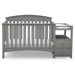 Bed Frame For Convertible Crib Delta Children Abby Convertible Crib N Changer Grey