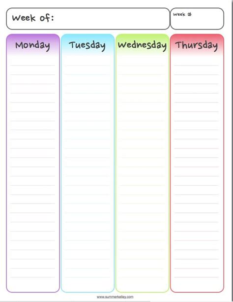customizable daily planner template customizable daily planner template 28 images free