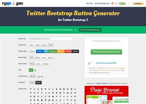 layoutit bootstrap tutorial 25 download free bootstrap tools and generators smashing