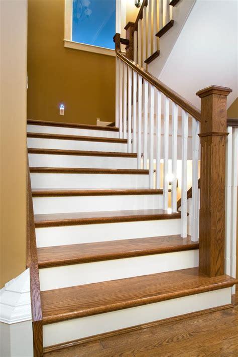 Pinterest Home Interiors distinctive interiors custom matched oak stair materials