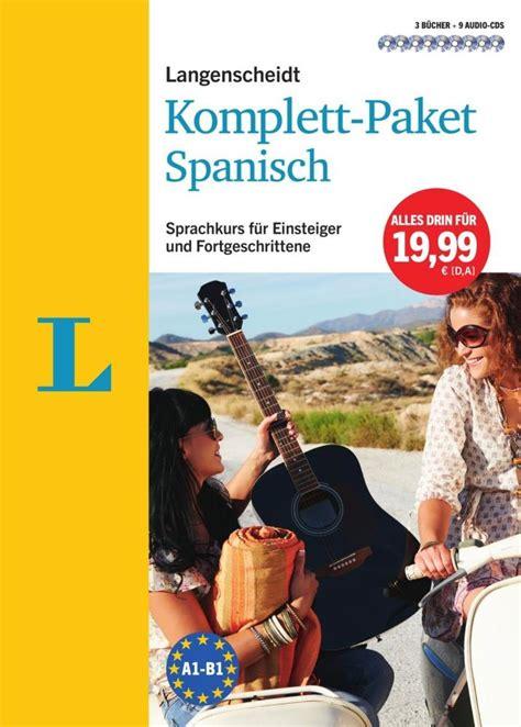 Novel Paket Orizuka Oppa I Ebook langenscheidt komplett paket spanisch der sprachkurs f 252 r