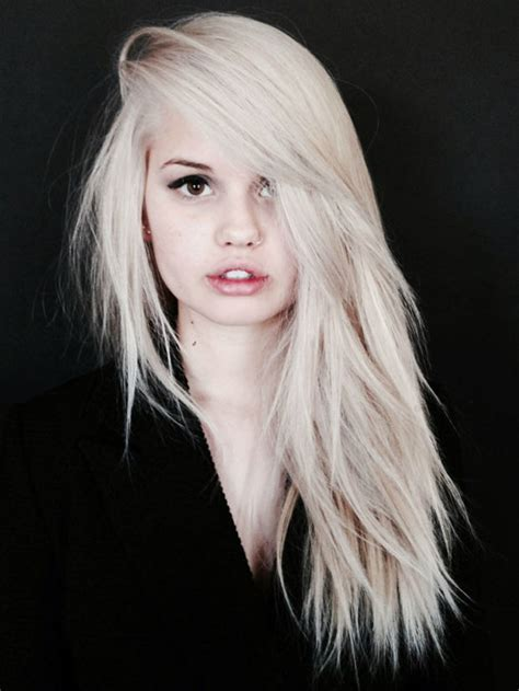 hairstyles platinum blonde coolest platinum blonde hair colors haircuts hairstyles