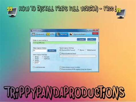 install fraps full version free fraps free install youtube