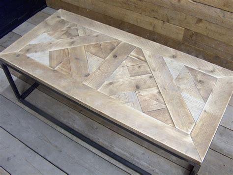 oude steigerhouten salontafel salontafel oud steigerhout moza 239 ek met stalen buisframe