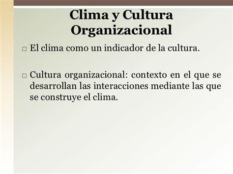 ejemplo de cultura organizacional cultura organizacional