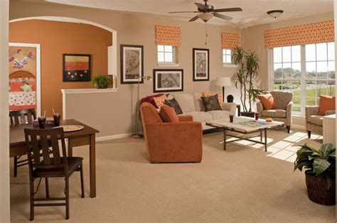 warm and inviting living rooms warm inviting living dining room combo