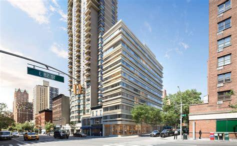 tower new york address oda new york s yorkville tower rises gets new address rendering cityrealty