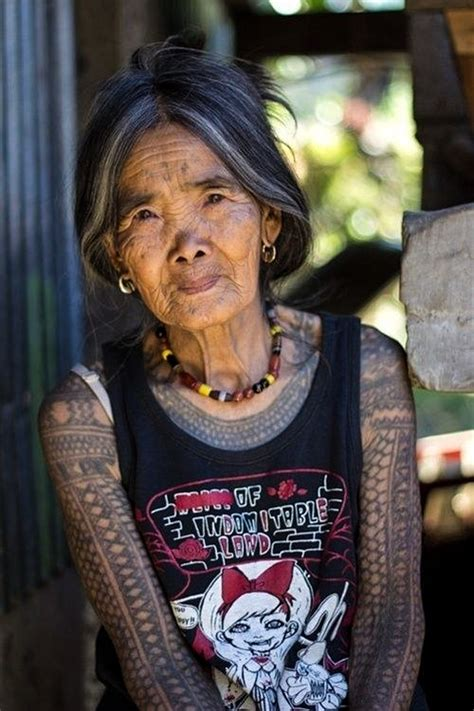 old women with tattoos tattooed seniors answer the question but what will you