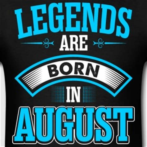 Kaos Legends Are Born In August 8 V Neck Vnk Tag37 shop born in august t shirts spreadshirt
