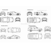 Porsche 1 DWG Free CAD Blocks Download