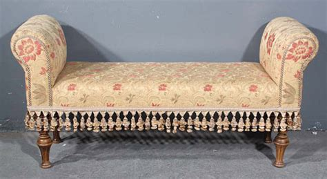 french bench seat special embroidered french tassle window bench seat for sale antiques com classifieds