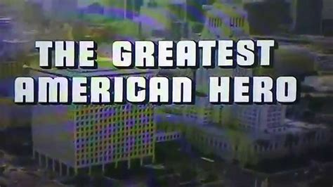 The Greatest American Intro The Greatest American Intro Theme
