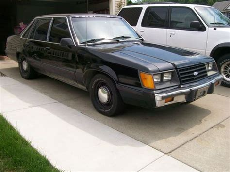 find used rare 1985 ford ltd lx v8 quot 4 door mustang quot in howell michigan united states