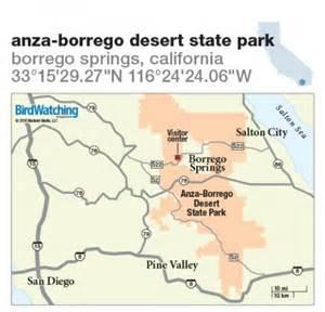 Anza Borrego State Park Map by 248 Anza Borrego Desert State Park Borrego Springs