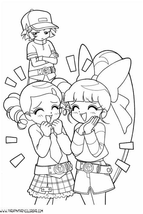 powerpuff girls z colouring pages