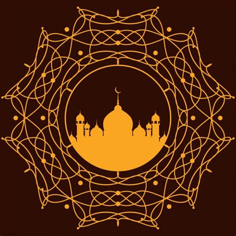 islamic pattern vector ai free orange islamic background design free vectors ui download