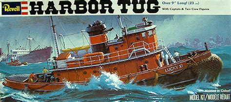 tugboat lucky xi harbor tug quot lucky xi quot kit revell