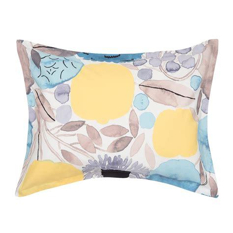 marimekko sitruunapuu yellow blue duvet cover set