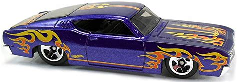 Wheels Die Cast 69 Mustang Purple Gold Easter Edition 2012 69 ford torino talladega 79mm 2008 wheels newsletter