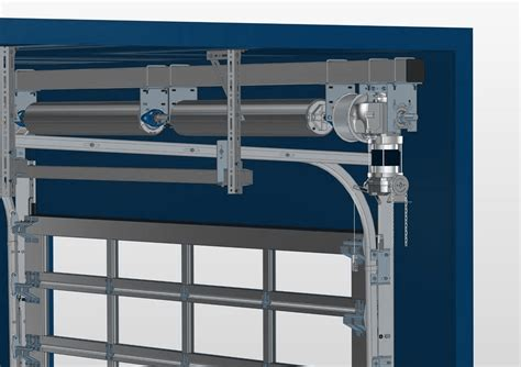 sectional gate fast moving sectional door nani loading dock equipment