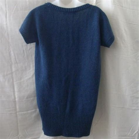 Top Line Knit Promo Oneck Rajut Knit Sweater Baju Hangat new large capucino line sleeved blue knit