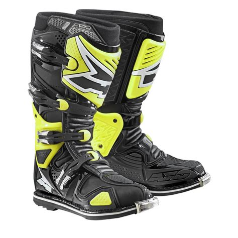 axo motocross boots motocross boots axo a2 fluo yellow insportline