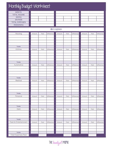 Budgeting Worksheets Pdf by Pin By Caroline Fiegel On Our New Home