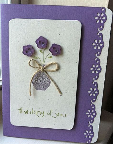 Thinking Of You Handmade Cards - crafts handmade cards and thinking of you on