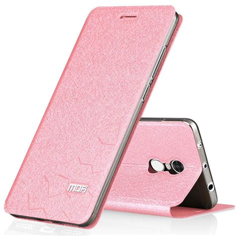 Flip Cover Xiomi Redmi Not xiaomi redmi note 4 xiaomi redmi note 4 cover silicon leather flip mofi book for xiomi