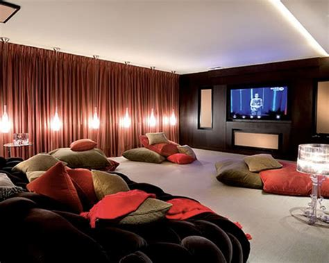 home theater room decor design how to design a home theater room bonito designs