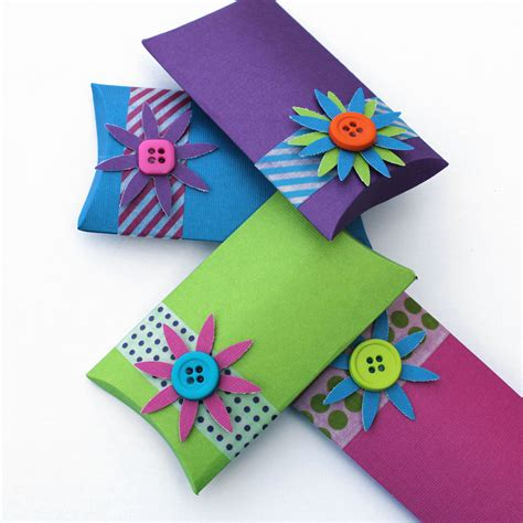 How To Make Paper Gift Boxes - paper gift bag eureka